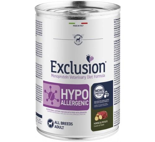 Exclusion Diet cane umido formula Hypoallergenic da 400g