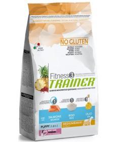 Trainer Fitness 3 per Cane Puppy Medium e Maxi con Salmone e Riso