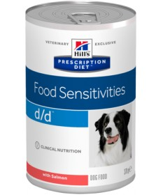 Hill's Prescription Diet D/D Skin Support per cane gusto cervo da 370g