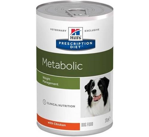 Hill's Prescription Diet Metabolic Cane umido da 370 gr