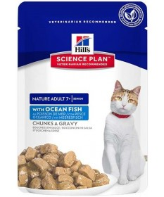Hill's Science Plan Active Longevity per Gatto Adult e Mature in Teneri Bocconcini da 85g