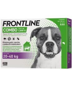 Frontline combo cani grandi 20-40 kg 3 pipette