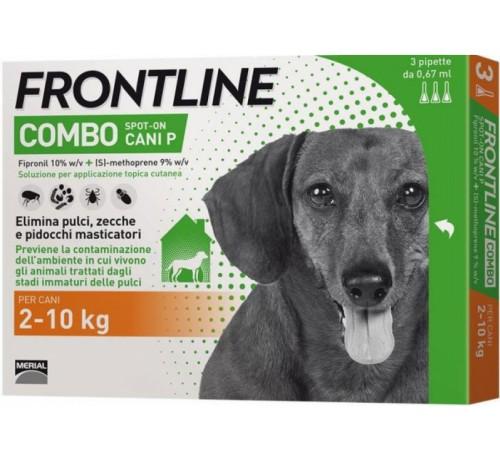 Frontline combo cani piccoli 3 pipette