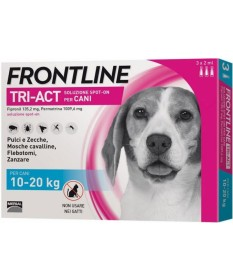 Frontline tri-act Cani 10-20 kg 3 pipette