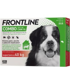 Frontline combo cani extra large superiore ai 40 kg 3 pipette
