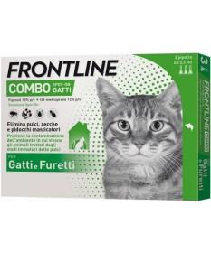 Frontline combo gatti 3 pipette