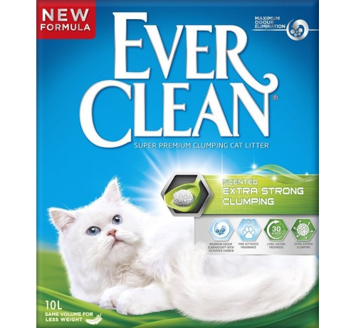 Ever Clean Gatto Extra Strong Scented New