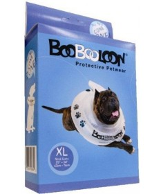 BooBooLoon Collare Gonfiabile XL per Cani