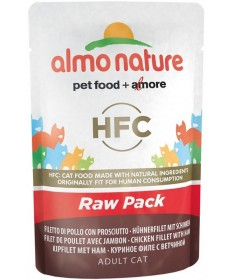 Almo Nature HFC Raw Pack per Gatto Adult da 55gr