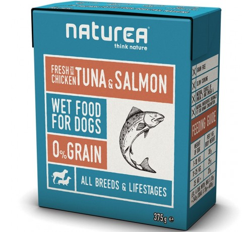 Naturea Dog Grain Free Cane Umido da 375 gr