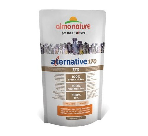 Almo Nature Alternative 170 XS-S Pollo Fresco e Riso