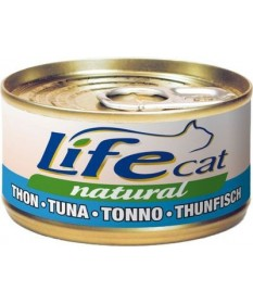 LifeCat Natural Gatto Umido Scatoletta da 70 gr