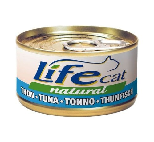 LifeCat Natural Gatto Umido Scatoletta da 70 gr