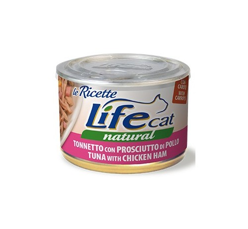 LifeCat Natural Le Ricette Gatto Umido da 150gr