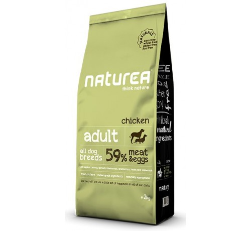 Naturea Grain Free Natural Adult Cane Secco da 2kg