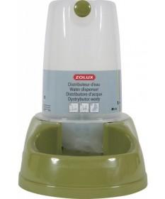Zolux Distributore d'Acqua Verde per Cani e Gatti per 1,5 lt