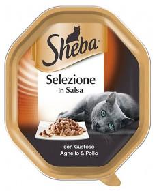 Sheba Selezione in Salsaper Gatto da 85 gr