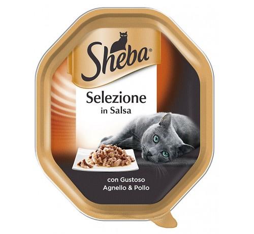 Sheba Selezione in SalsaGatto Umido da 85 gr