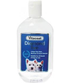 Vitacoat Diamond Eye Lozione per Cani e Gatti da 250 ml