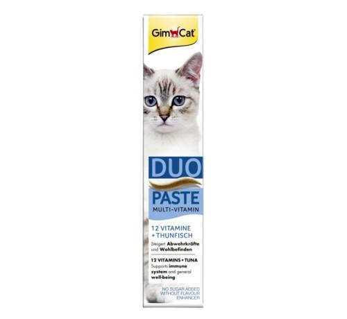 Gimcat Multi-Vitamin Duo-Paste12 Vitaminscon Tonno da 100g