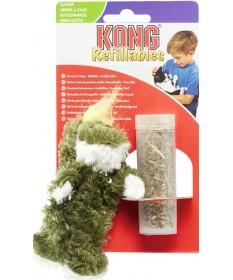 Kong Refillables Gioco a forma di Rana per Gatti