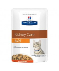 Hill's Prescription Diet k/d Kidney Care per Gatto da 85g