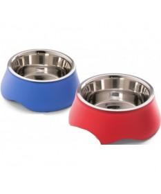 Imac Ciotola Diva 4 con Base in Plastica per Cani e Gatti da 0,5 lt