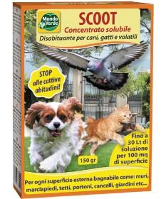 Mondo Verde Scoot Concentrato Solubile Disabituante per Cani, Gatti e Volatili da 150 gr