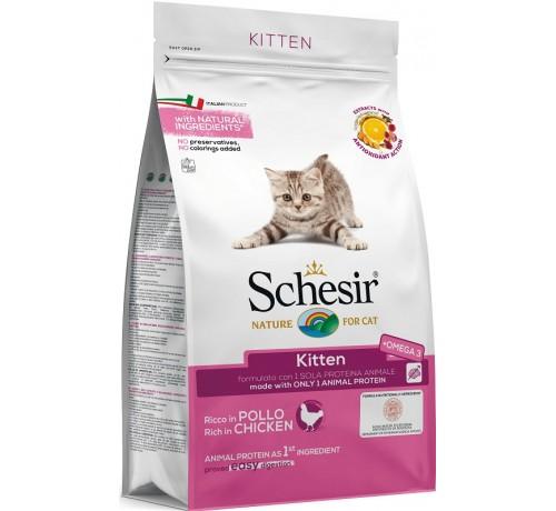 Schesir Kitten Monoprotein con Pollo da 400g