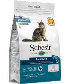 Schesir gatto Hairball Monoprotein con Pollo da 400g