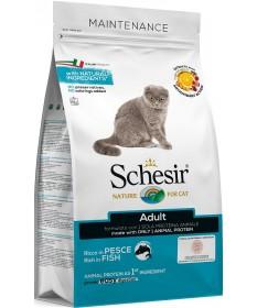 Schesir Dry Cat Mantenimento per Gatto Adult con Pesce