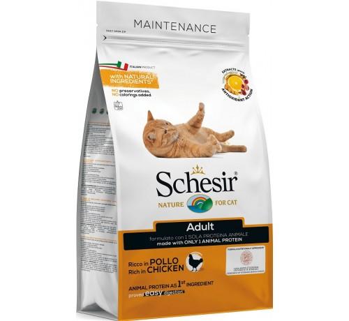 Schesir gatto Monoprotein Mantenimento con Pollo