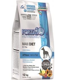 Forza10 Diet Maxi per Cane con Pesce da 12 Kg
