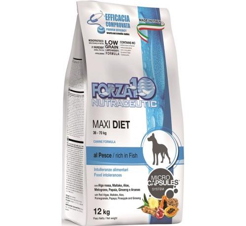 Forza10 Diet Maxi Cane Secco Pesce da 12 Kg