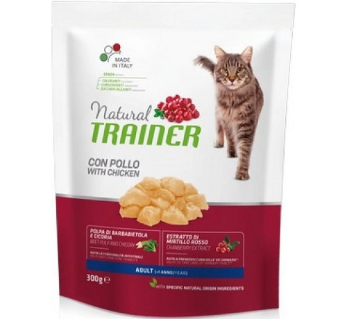 Trainer Natural per Gatto Adult con Pollo Fresco