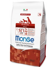 Monge Natural Superpremium per Cane Adult All Breeds con Agnello Riso e Patate