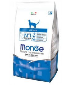 Monge Natural Superpremium Urinary per Gatto Ricco di Pollo