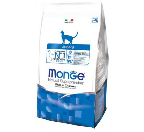 Monge Natural Superpremium Urinary Gatto Secco Ricco di Pollo