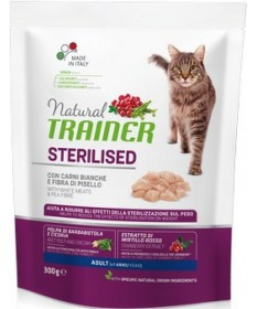 Trainer Natural per Gatto Adult Sterilised con Carni Bianche Fresche