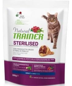 Trainer Natural per Gatto Adult Sterilised con Prosciutto Crudo