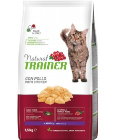 Trainer Natural per Gatto Mature con Pollo