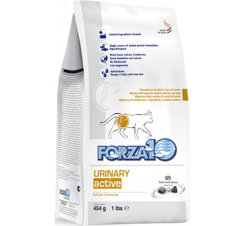 Forza10 Urinary Active Gatto Secco da 454 gr