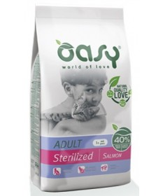 Oasy Adult Sterilized Gatto Secco Salmone