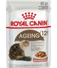 Royal Canin Gatto Ageing 12+ in Salsa da 85g