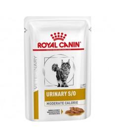 Royal Canin Veterinary Diet Urinary S/O Moderate Calorie per Gatto da 85 gr