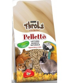 Throls Pellettò per Roditori da 5 Kg