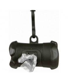 Trixie Distributore di Sacchetti Igienici a Rotolo in Plastica M per Cani