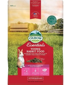 Oxbow Essential Young Rabbit Food da 2.270 Kg