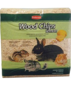 Padovan Wood Chips Lemon per Roditori da 56 lt/4 Kg