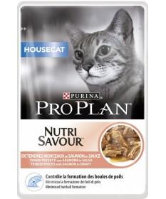 Pro Plan Nutrisavour per Gatto di casa con Salmone in salsa da 85gr
